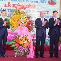 Công ty Than Quang Hanh kỷ niệm 15 năm thành lập